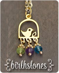 personalized birthstone jewelry by jules jewelry.