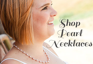 shopping for freshwater pearl and sterling silver necklaces from Jules Jewelry.