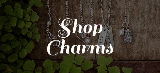 shop for charm necklaces at Jules Jewelry.