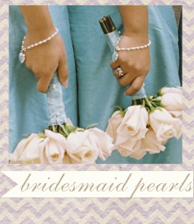 bridesmaid jewelry gifts - wedding party jewelry pearls.