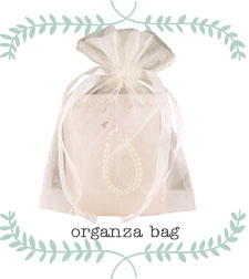 Organza Bag Jewelry Gift Wrap.