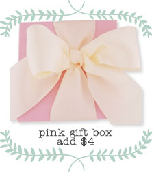 Dainty Pink Jewelry Gift Box with Satin Bow.